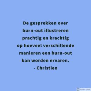 Testimonial Christien 2